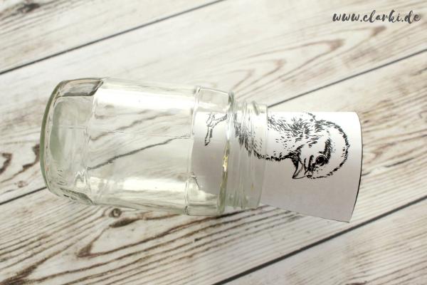 glas ostern basteln