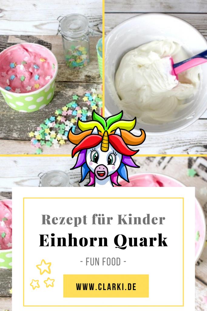 einhorn quark aufstrich für kinder