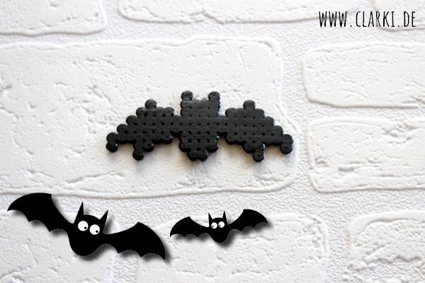 DIY Fledermaus Kette aus Bügelperlen zu Halloween – clarki