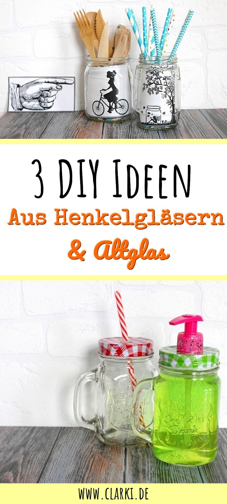 3 geniale diy ideen mit alten marmeladengl sern und. Black Bedroom Furniture Sets. Home Design Ideas