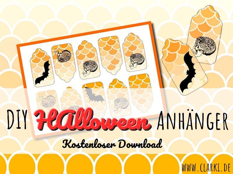 DIY Anhänger: Kostenlose Halloween Etiketten für kleine Süßigkeiten, Mitgebsel und Co.