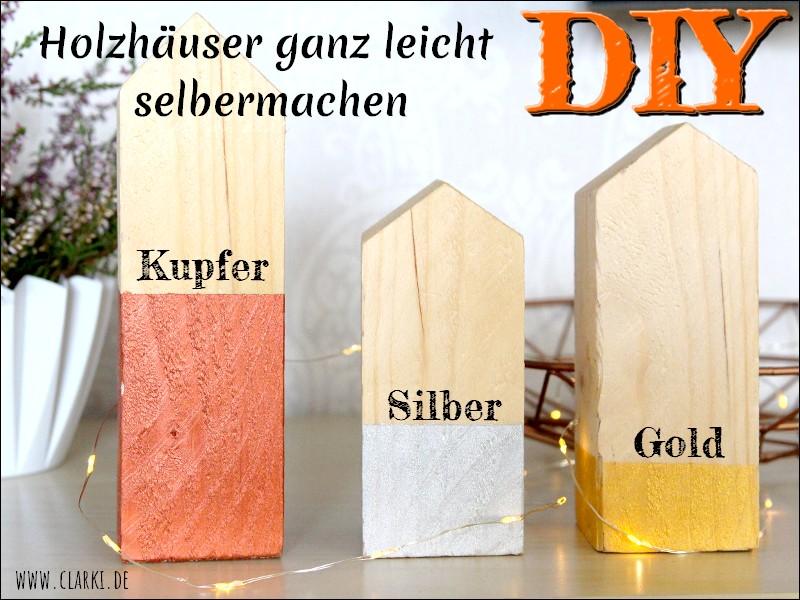 Holzhäuser bauen: Die perfekte Deko für Herbst und Winter