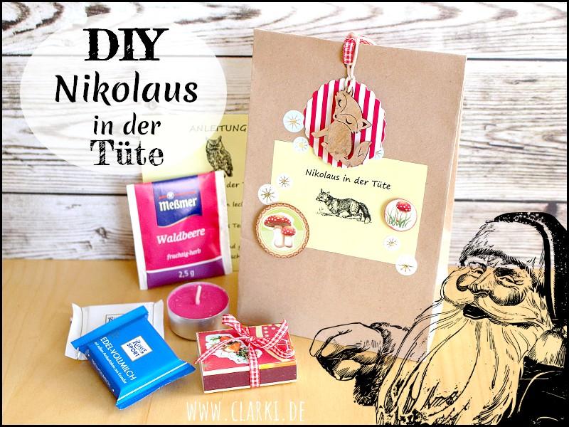 DIY: Nikolaus in der Tüte zum Verschenken + k…