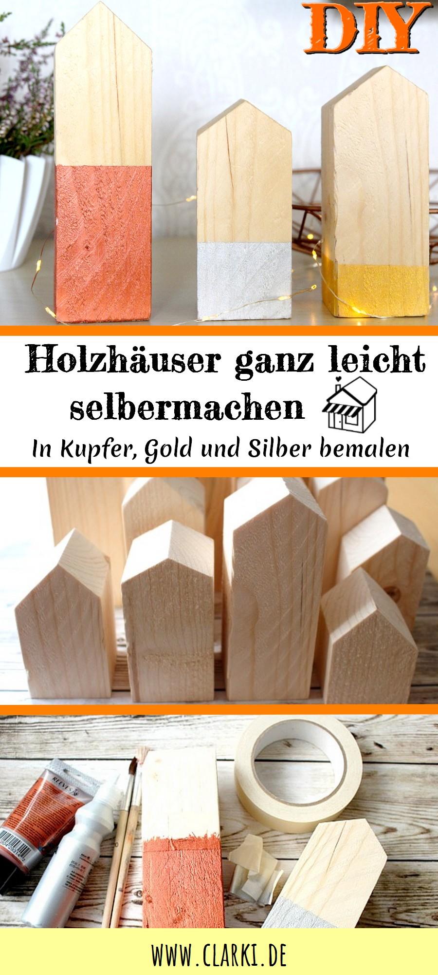 Holzhäuser bauen als Deko oder Weihnachtsgeschenk