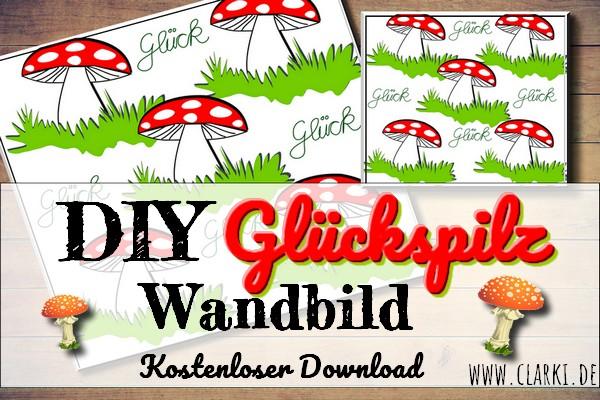 silvester deko diy kostenloses poster mit s en gl ckspilzen clarki. Black Bedroom Furniture Sets. Home Design Ideas