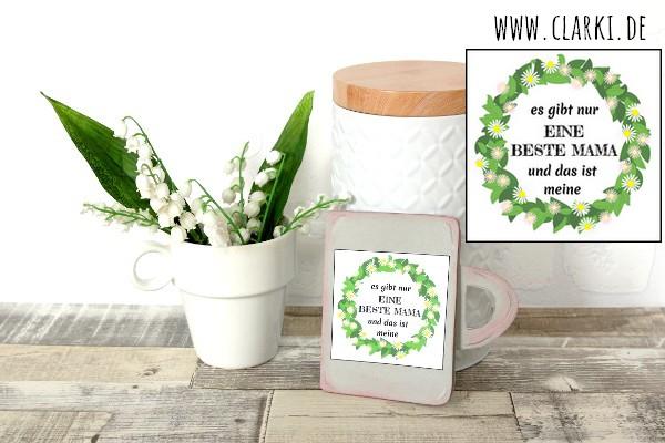 Papier Selber Machen diy muttertagskarte im tassen design aus papier selbermachen clarki