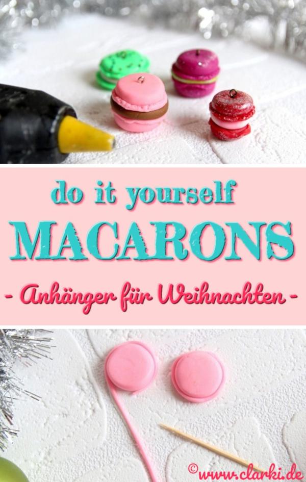 Macarons basteln: 9 Macaron-DIY-Ideen zum Selbermachen