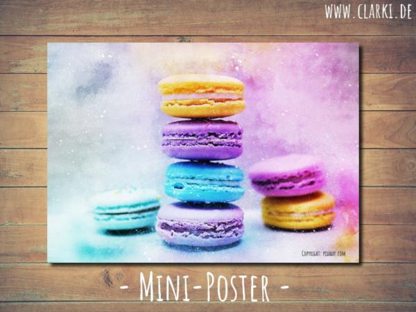 Macarons Mini Poster