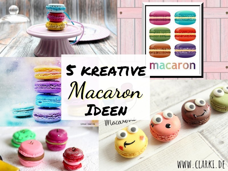 Macarons basteln: 5 Macaron-DIY-Ideen zum Selbermachen