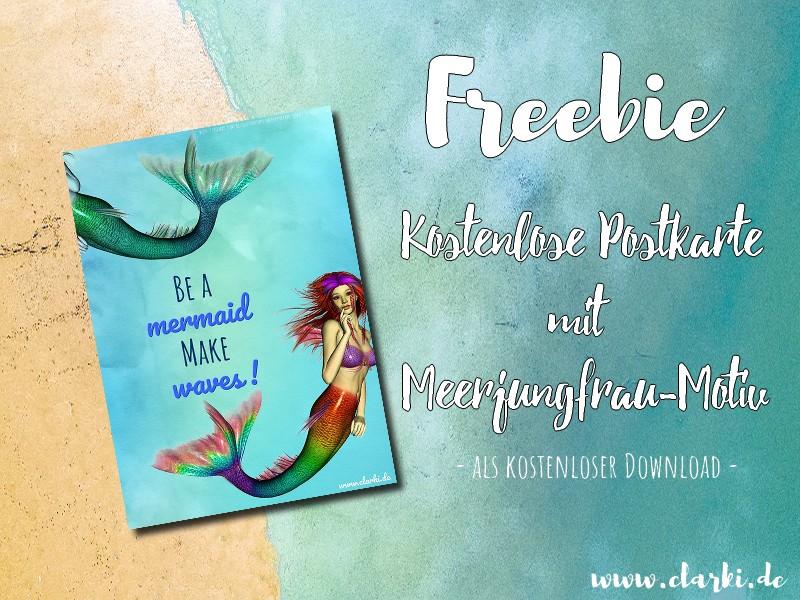 Nixen-Freebie für dich: Kostenlose Postkarte als Download