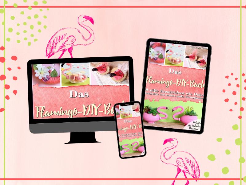 bastelbuch für kinder flamingo