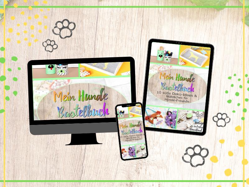 bastelbuch für kinder mit hunden
