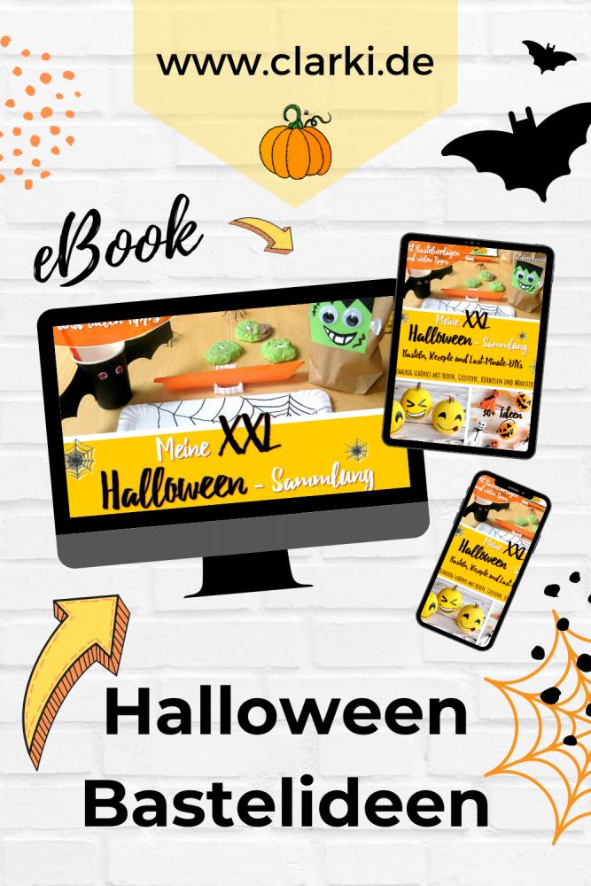 Halloween Basteln für Kinder | Buchvorstellung | Meine XXL-Halloween-Sammlung
