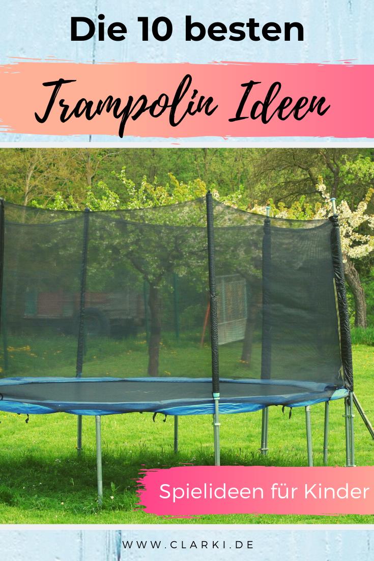spielideen für trampolin